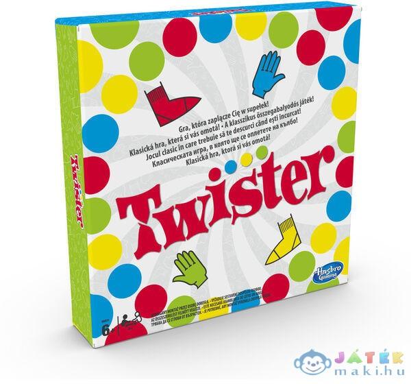 Twister Társasjáték Két Új Mozdulattal (Hasbro, 98831)