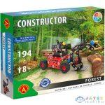 Forest Rönkrakodó Munkagép Fém Építőjáték 194Db-os (Alex Toys, 1645A)