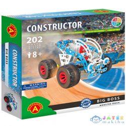 Big Boss Monster Truck Fém Építőjáték 202Db-os (Alexander Toys, 2183)