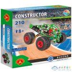 Buzzer Monster Truck Fém Építőjáték 210Db-os (Alexander Toys, 2182)
