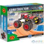 Crusher Monster Truck Fém Építőjáték 199Db-os (Alexander Toys, 2179)