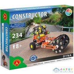 Dyna Úthenger Fém Építőjáték 234Db-os (Alexander Toys, 2176)