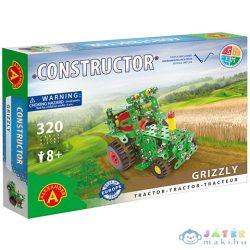 Grizzly Traktor Fém Építőjáték 320Db-os (Alexander Toys, 1499)