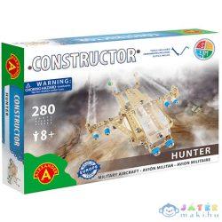 Hunter Repülő Fém Építőjáték 280Db-os (Alexander Toys, 1431A)