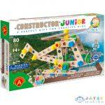 Junior 3 Az 1-Ben Helikopter Fa Építőjáték 91Db-os (Alexander Toys, 2161)