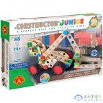 Junior 3 Az 1-Ben Targonca Fa Építőjáték 88Db-os (Alexander Toys, 2159)