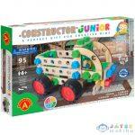 Junior 3 Az 1-Ben Teherautó Fa Építőjáték 95Db-os (Alexander Toys, 2155)