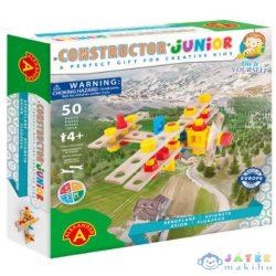 Junior Repülőgép Fa Építőjáték 50Db-os (Alexander Toys, 2152)