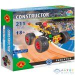 Predator Monster Truck Fém Építőjáték 211Db-os (Alexander Toys, 2180A)