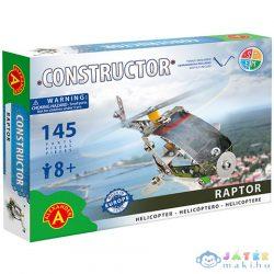 Raptor Helikopter Fém Építőjáték 145Db-os (Alexander Toys, 1261A)