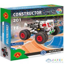 Warrior Monster Truck Fém Építőjáték 201Db-os (Alexander Toys, 2181A)