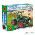 Zöld Traktor Modell Fém Építőjáték 284Db-os (Alexander Toys, 2168A)