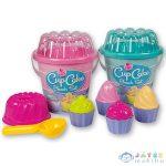 Cupcake Muffin 8 Részes Homokozó Szett Kétféle Változatban (Androni Giocattoli, 1290-0000)