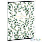 Botanic Leaf Extra Kapcsos Vonalas Füzet A/4 (Ars Una, 53110244)