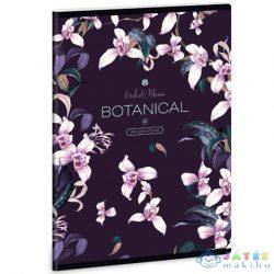Botanic Orchid Extra Kapcsos Vonalas Füzet A/5 (Ars Una, 53130211)