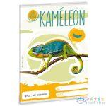 Cuki Állatok - Kaméleon Kockás Füzet A/5 (Ars Una, 53630322)