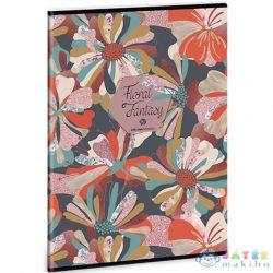 Floral Collage Négyzethálós Füzet A/4 (Ars Una, 93129367)