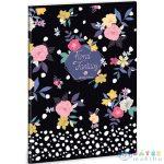 Floral Prism A/4 Extra Kapcsos Sima Füzet (Ars Una, 93809382)