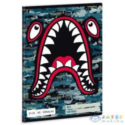 Flying Sharks 4. Osztályos Vonalas Füzet A/5 (Ars Una, 53620019)