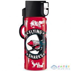 Flying Sharks Cseppmentesen Záródó Műanyag Kulacs 475Ml (Ars Una, 55020015)