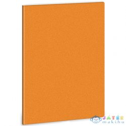 Narancs Glitteres A/5 Extra Kapcsos Sima Füzet (Ars Una, 93155526)