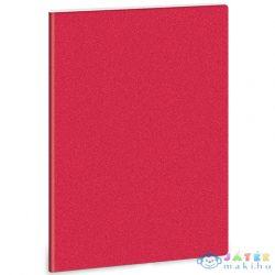 Piros Glitteres A/4 Extra Kapcsos Sima Füzet (Ars Una, 93805568)