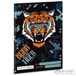 Roar Of The Tiger 4. Osztályos Vonalas Füzet A/5 (Ars Una, 53620057)