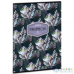 Tropical Palm Leaf A/4 Extra Kapcsos Sima Füzet 40 Lapos (Ars Una, 93809399)