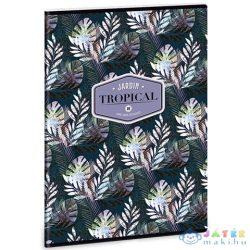 Tropical Palm Leaf Négyzethálós Füzet A/4 (Ars Una, 93129398)