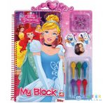 Disney Hercegnők Kreatív Spirálos Színező (AS Toys, 1023-59764)