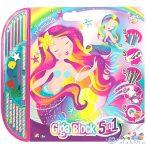 Fantasztikus Sellők 5 Az 1-Ben Giga Kreatív Szett (AS Toys, 1023-62731)
