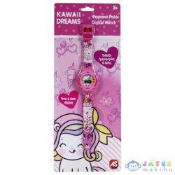 Kawaii Dreams Rózsaszín Digitális Karóra (AS Toys, 1027-64141)