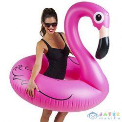 Óriás Flamingó Felfújható Úszógumi 119X121X108Cm (BigMouth, BMPF-PF)