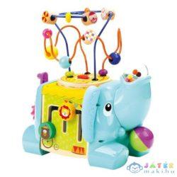 Elefántos Fa Készségfejlesztő Játék Golyóvezetővel (Bino Toys, 84212)