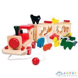 Fa Formaillesztő Kisvonat (Bino Toys, 84166)