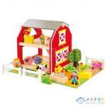 Fa Játékfarm Állatokkal 49Db-os Szett (Bino Toys, 82222)