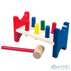 Fa Kalapácsos Készségfejlesztő Játék (Bino Toys, 82134)