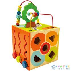 Fa Készségfejlesztő Kocka (Bino Toys, 84189)