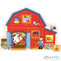 Farm Fa Forma-Puzzle (Bino Toys, 88118)