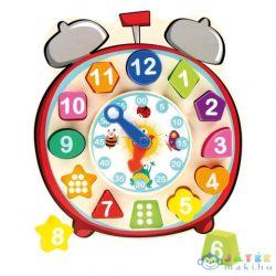 Formaillesztő Fa Óra Oktatójáték (Bino Toys, 84053)