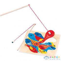 Horgászható Mágneses Fa Formapuzzle (Bino Toys, 82737)