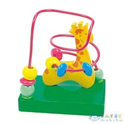 Lupilo Zsiráfos Golyóvezető Fajáték (Bino Toys, 84160)