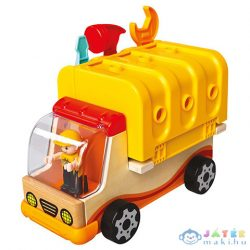 Monti Összeszerelhető Teherautó Alkatrészekkel És Szerszámokkal (Bino Toys, 84090)