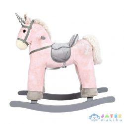 Rózsaszín Fa Unikornis Hintaló 47Cm-Es (Bino Toys, 82529)