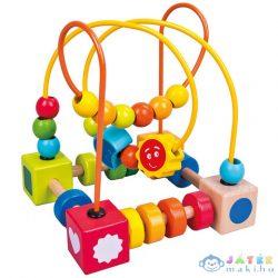 Színes Gyöngyvezető Labirintus (Bino Toys, 84201)