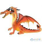 Dupla Fejű Narancssárga Sárkány Játékfigura - Bullyland (Bullyland, 75598)