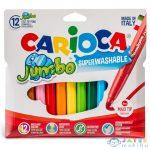 Jumbo Filctollszett Tárolóban 12Db - Carioca (Carioca, 40565)