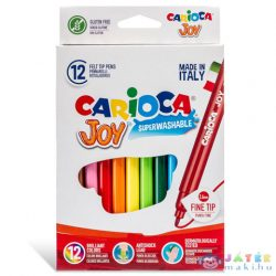 Lemosható Filctollszett 12Db - Carioca (Carioca, 40614)