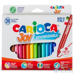 Lemosható Filctollszett 36Db - Carioca (Carioca, 40616)