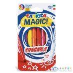 Mágikus Radírozható 8 Db-os Filctoll Szett - Carioca (Carioca, 41239)